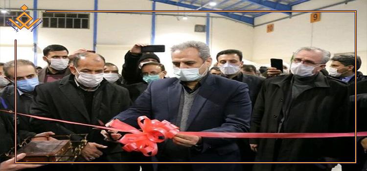 افتتاح طرح های بخش کشاورزی خراسان شمالی توسط وزیر جهاد کشاورزی